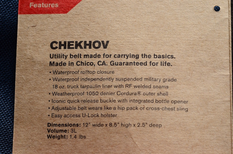 クローム(CHROME)のショルダーバッグ CHEKHOVを入手!この質感はハマります。