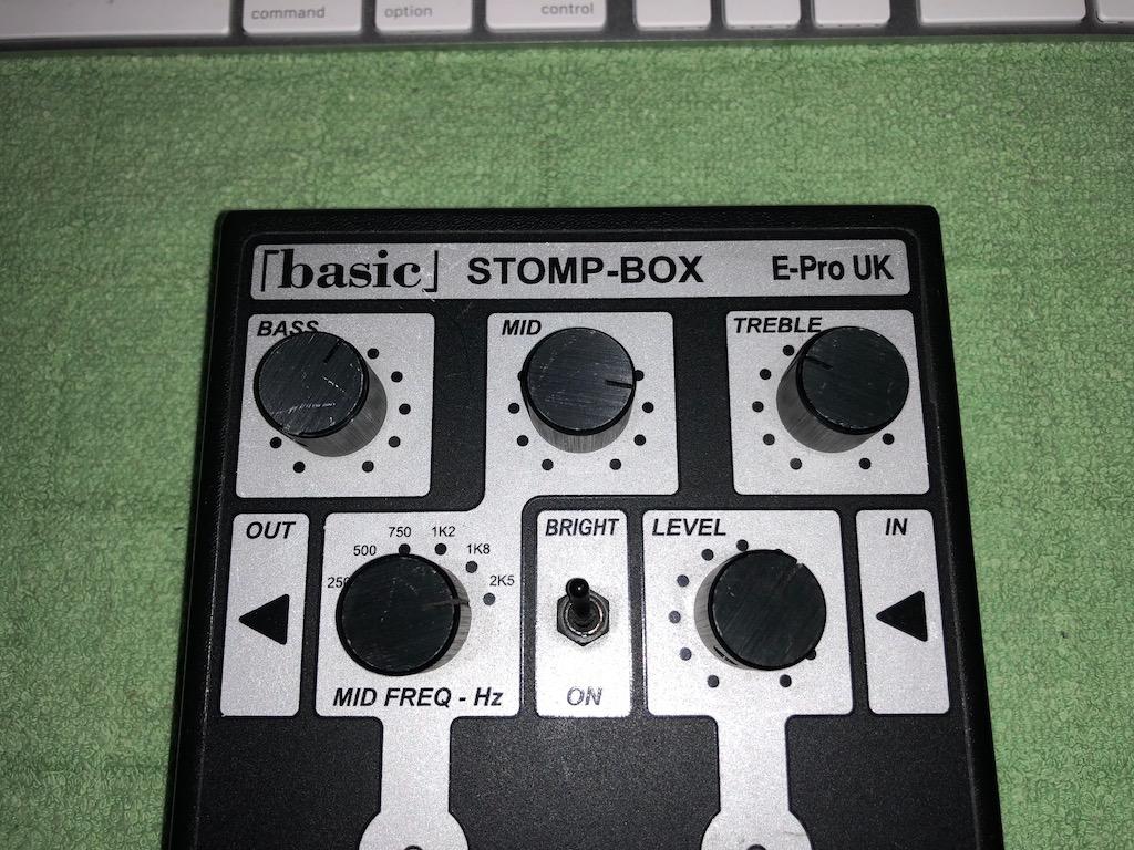 まとめ E-Pro UK STOMPBOXの修理に思ったこと