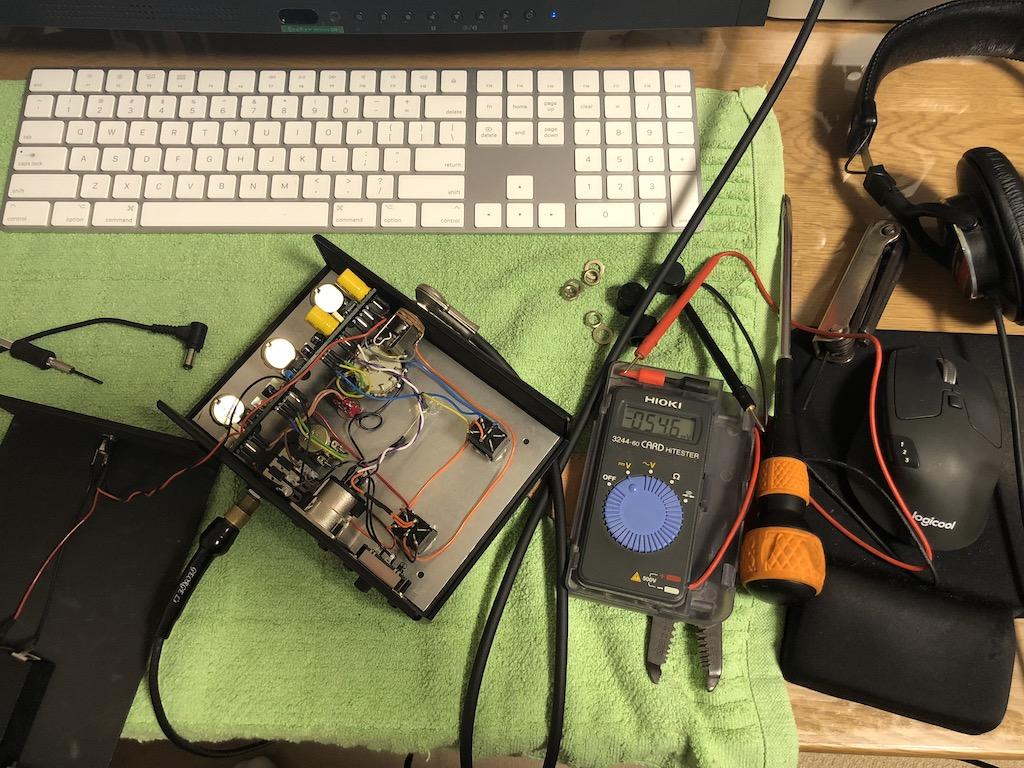 E-Pro UK STOMPBOXを修理