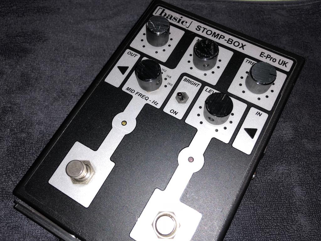 修理日記 その1 E-Pro UK STOMPBOX