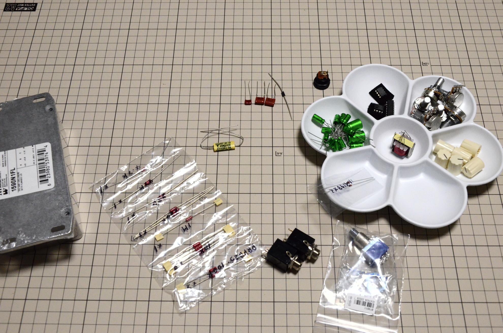 自作ビットコマンダー材料