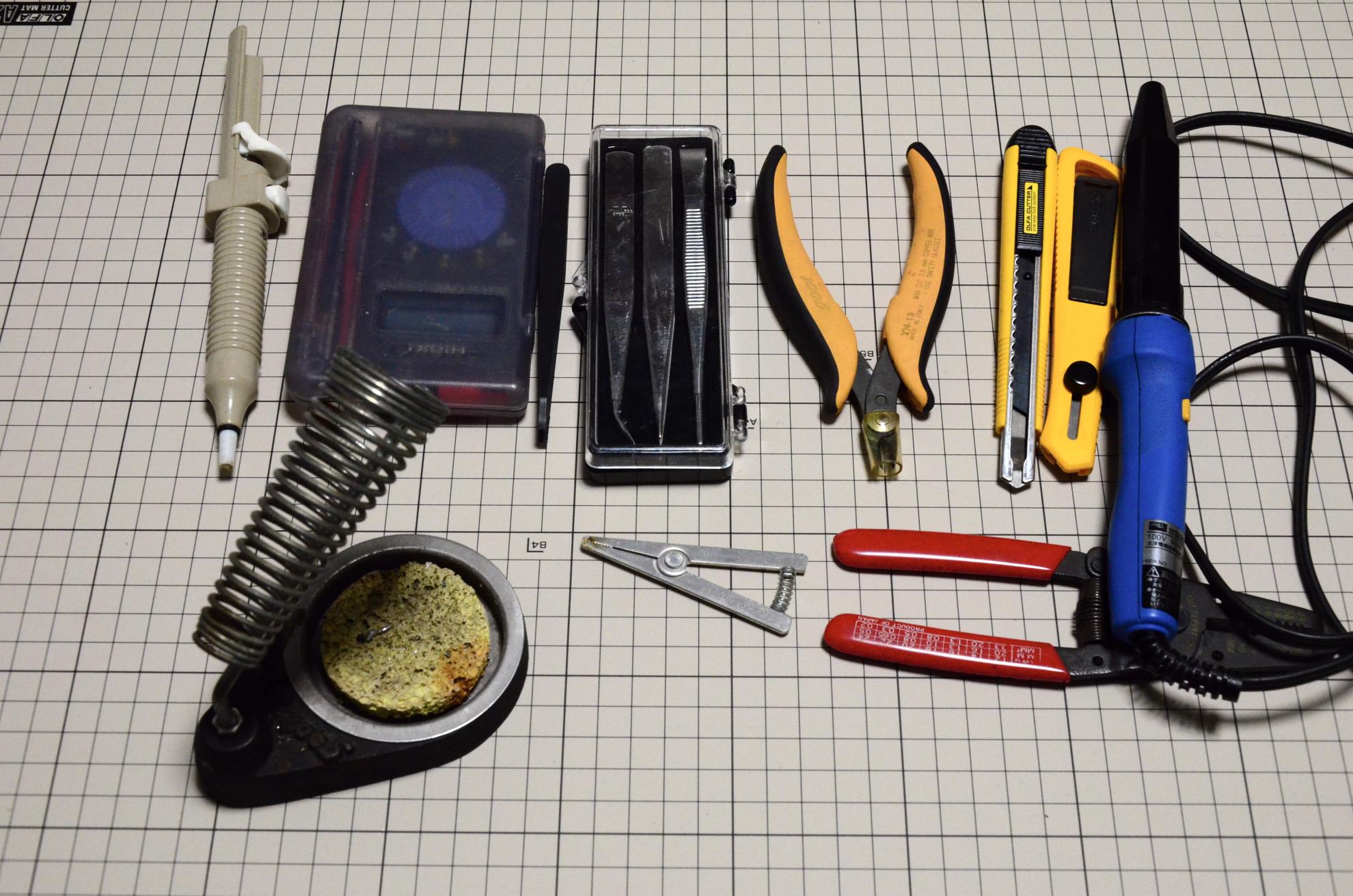 自作エフェクター使用工具