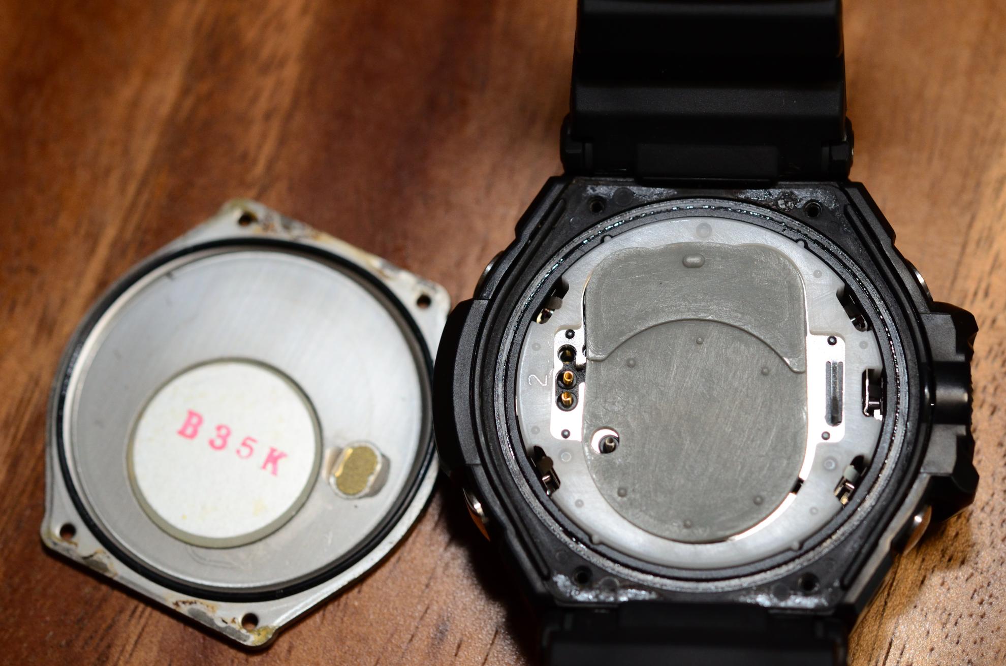 GA-1100-1AJFの電池交換すぅ、すっぞ!
