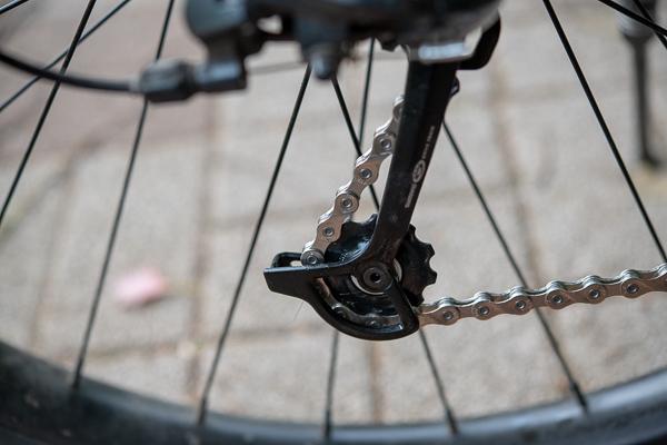 マウンテンバイクのチェーン交換