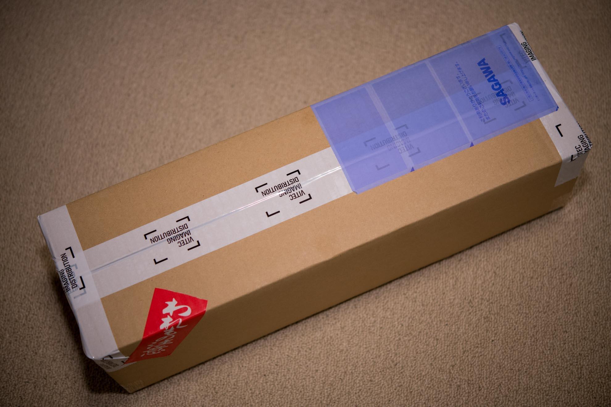 ゴリラポッド5Kの梱包
