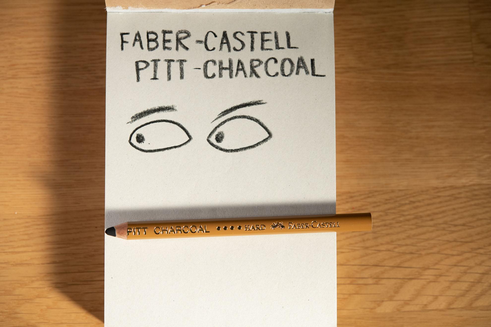 PITTチャコール(ハード)Faber-Castellファーバーカステル
