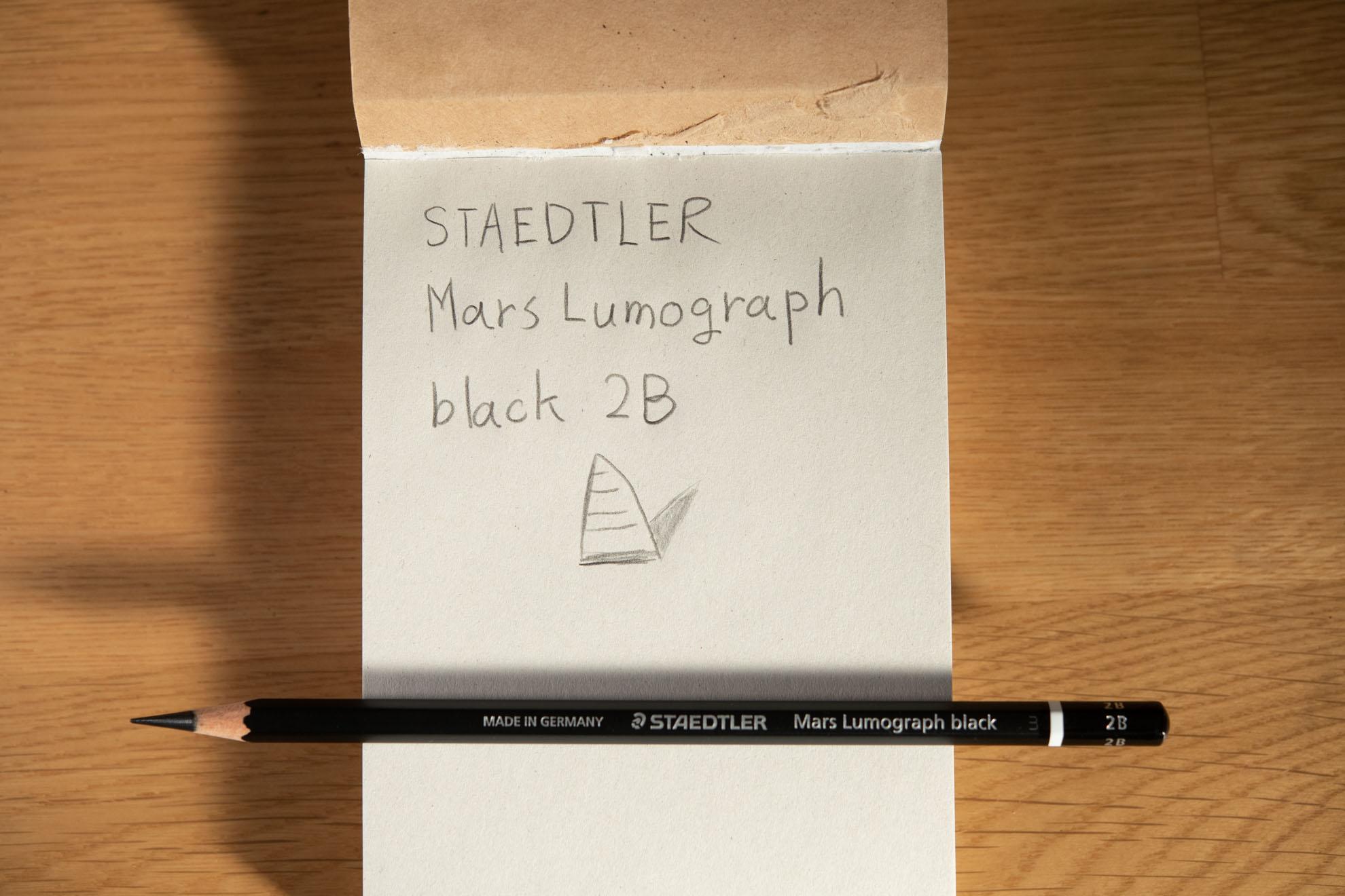 マルス ルモグラフ ブラック ステッドラー