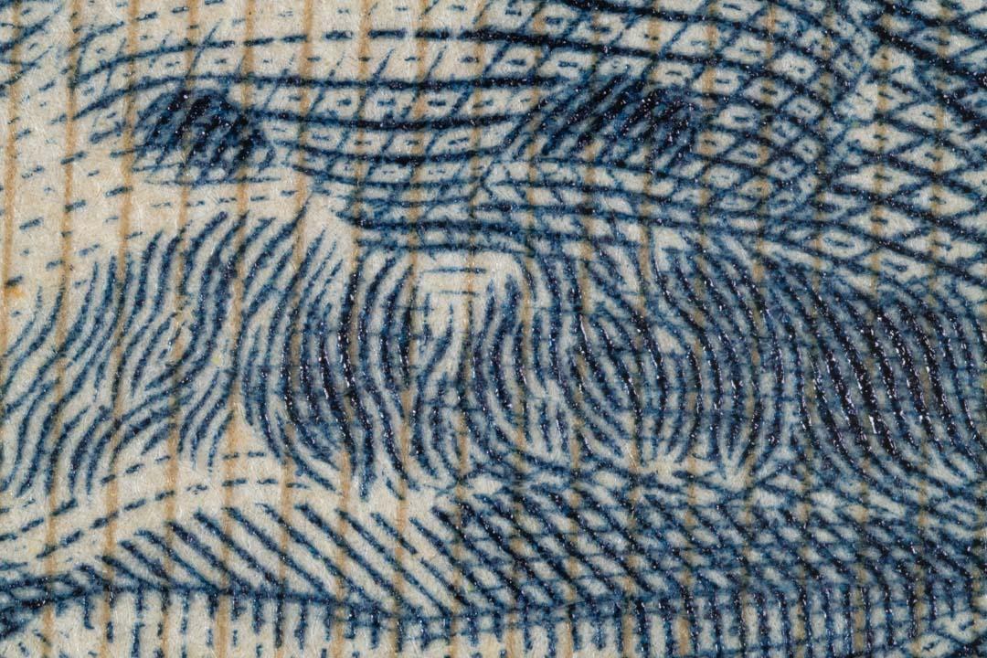 【マクロ撮影 その4】千円札をマクロ撮影したよ! 〜お年玉が千円だと萎えたなぁ〜