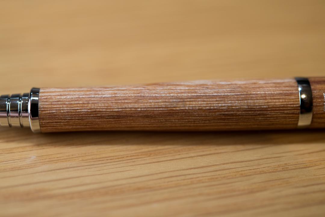 """【買ったよ♪】パイロットの木のシャーペン""""S30 HPS-3SK-BN""""をちょっとだけ使ったのでレビュー"""