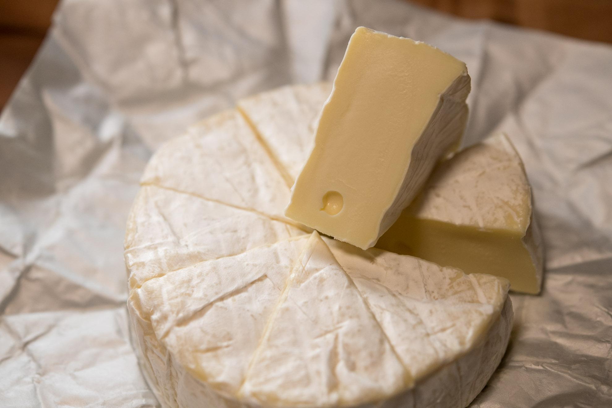業務スーパーの安価なBavarica Brie ブリーチーズ